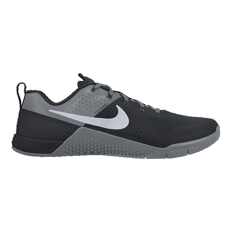 Nike Men s Metcon 1 Training Shoes - Black Grey  ffa268bfb