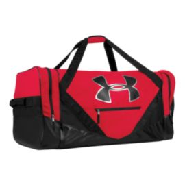 Under Armour Player Duffel Hockey Bag - Red