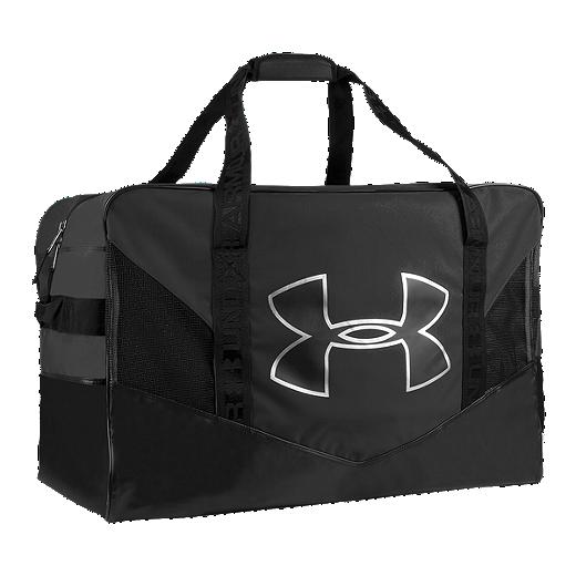 083de4930e5 Under Armour Pro Duffel Hockey Bag - Black - BLACK