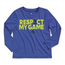 adidas Kids' Respect Long Sleeve Top