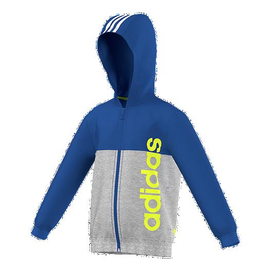 adidas Essentials Kids' Full Zip Hoodie | Sport Chek