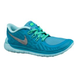 Nike Free 5.0 Girls' Grade-School Running Shoes