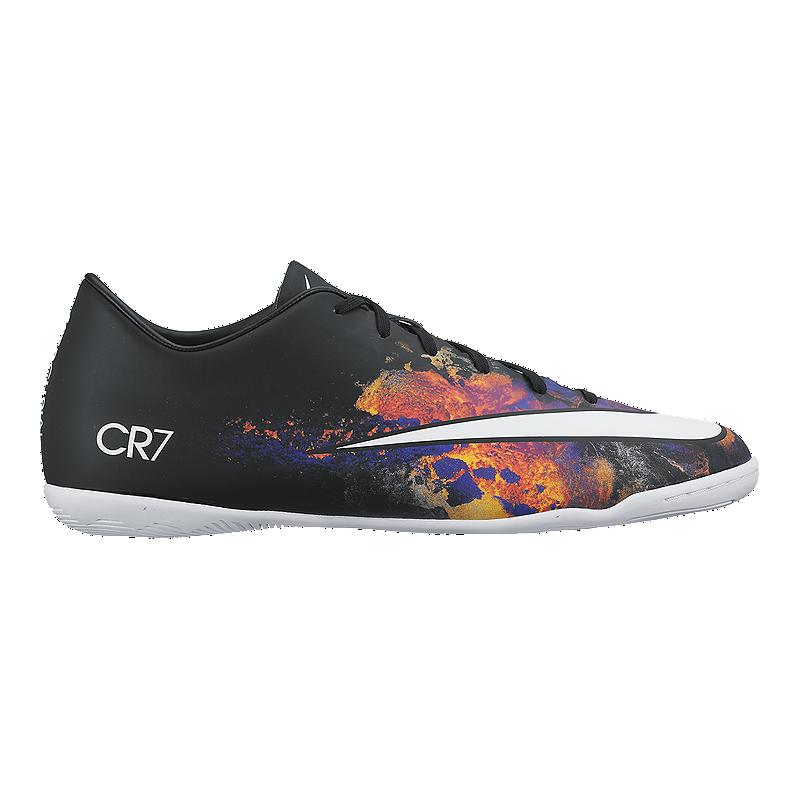 b5bee63af2cba Nike Men's Mercurial CR7 Indoor Soccer Shoes - Black/Multi/White   Sport  Chek