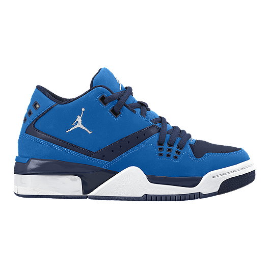 1822f3062f6956 Nike Kids  Jordan Flight 23 Grade School Basketball Shoes - White Navy.  (0). View Description
