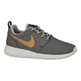 Nike Women's Roshe One Casual Shoes - Grey/Gold