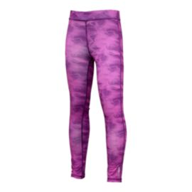 Reebok Texture Flow Girls' Yoga Tight