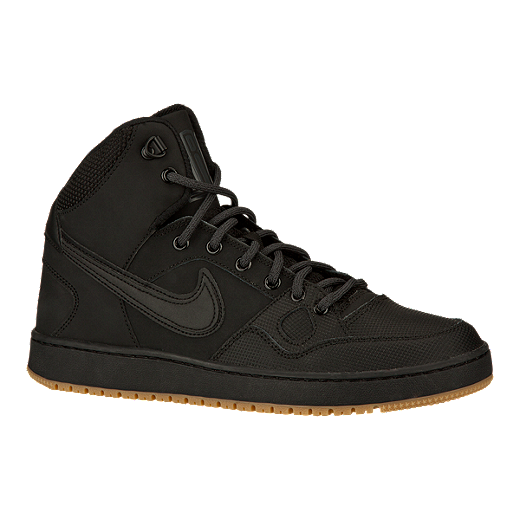 Nike Men s Son of Force Mid Winter Shoes   BlackGum