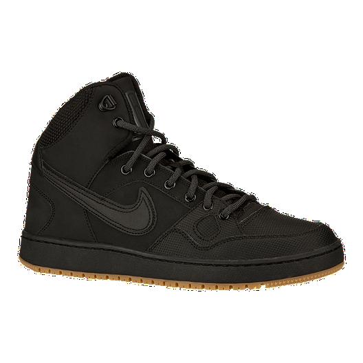 satisfacción Fotoeléctrico Agresivo  Nike Men's Son of Force Mid Winter Shoes - Black/Gum | Sport Chek
