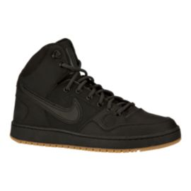 Nike Men's Son of Force Mid Winter Shoes - Black/Gum