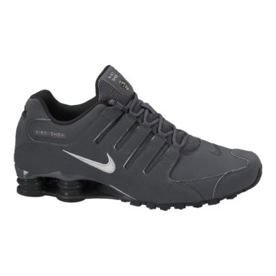 Nike Men\u0027s Shox NZ Shoes - Grey/Black