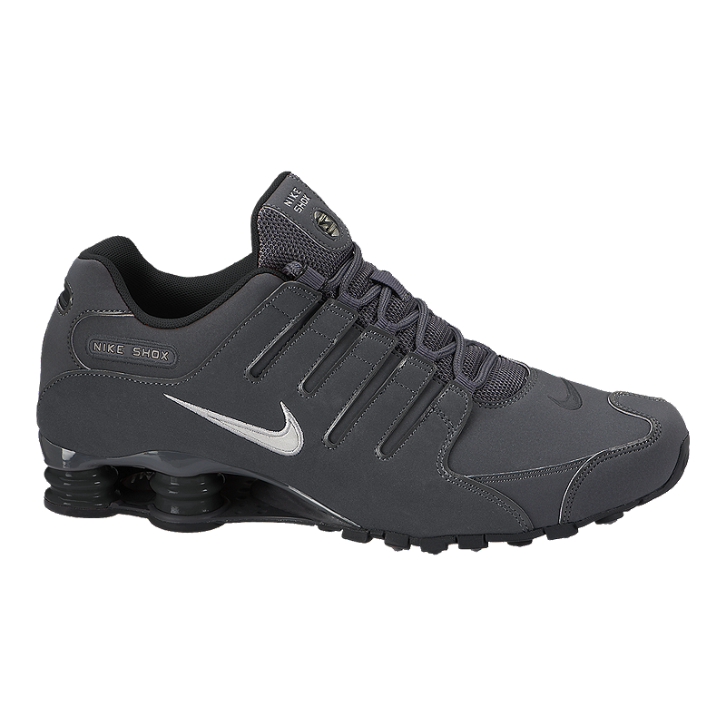 new product 0c57d 58b15 Nike Men s Shox NZ Shoes - Grey Black   Sport Chek