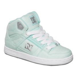 DC Rebound TX Girls' Grade-School Skate Shoes
