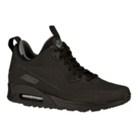 Nike Men's Air Max 90 Mid Casual Shoes - Black