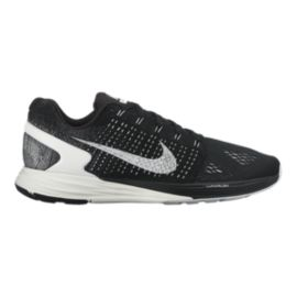 Nike Men's LunarGlide 7 Running Shoes - Black/White
