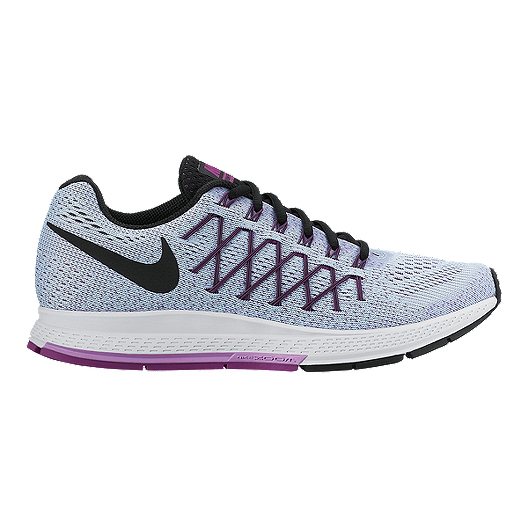 pretty nice a8506 442d4 Nike Women's Air Zoom Pegasus 32 Running Shoes - Light Grey/Purple/Black |  Sport Chek