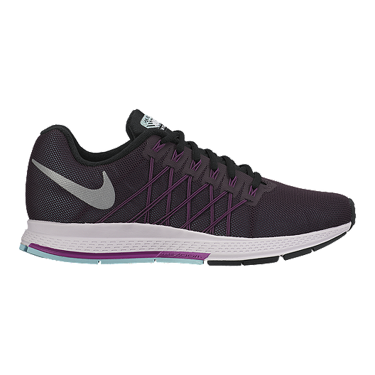 3a91f000449 Nike Women's Air Zoom Pegasus 32 Flash Running Shoes - Purple/Silver ...