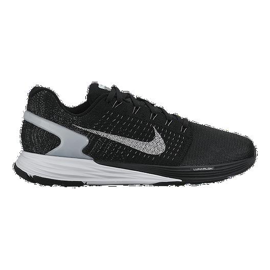newest 7a11b 78412 Nike Women s LunarGlide 7 Flash Running Shoes - Black Grey   Sport Chek