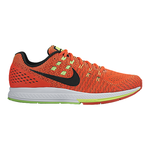 info for b3662 bd292 Nike Men s Air Zoom Structure 19 Running Shoes - Orange Black Green   Sport  Chek