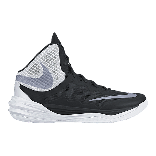 ... Nike Womens Prime Hype 2 DF Basketball Shoes - BlackWhite ... 3e49ace6b