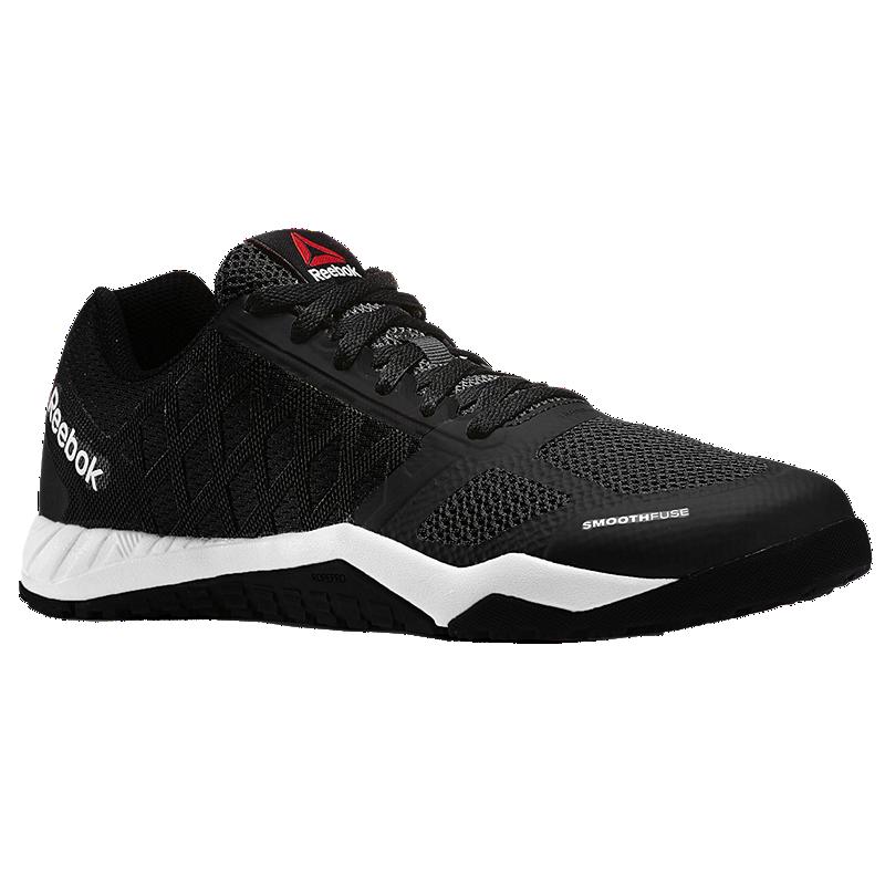 Reebok Men S Workout Tr Training Shoes Black White