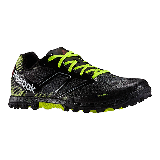 df53bffdc Reebok Men s All Terrain Super Trail Running Shoes - Black Lime Green