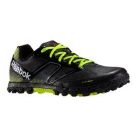 Reebok Men s All Terrain Super Trail Running Shoes - Black Lime ... 298a3f7788a