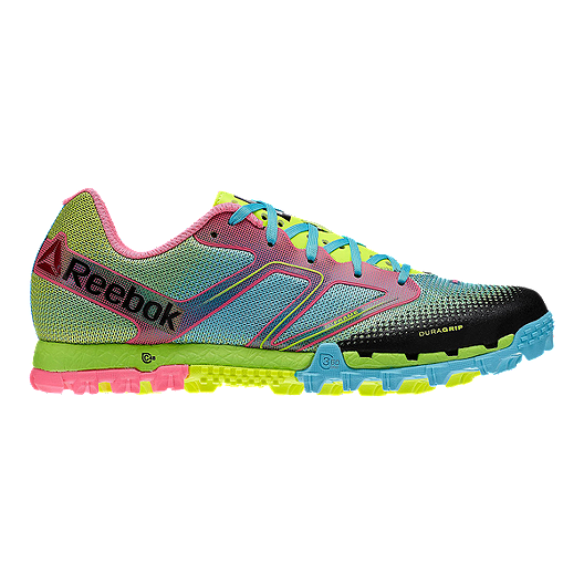 d9995fe63b8dd1 Reebok Women s All Terrain Super Trail Running Shoes - Green Blue ...