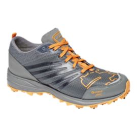 Icebug Men's Anima3 BUGrip Trail Running Shoes - Silver Grey/Orange