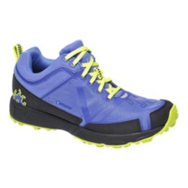 Icebug Women's DTS2 BUGrip Trail Running Shoes - Purple/Yellow/Black