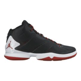 Nike Men's Jordan Super.Fly 4 Basketball Shoes - Black/White/Red