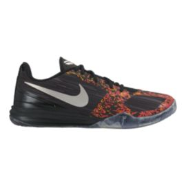 Nike Men's KB Mentality Basketball Shoes - Black/Orange/Grey