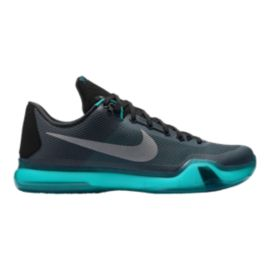 Nike Men's Kobe X Basketball Shoes - Black/Blue