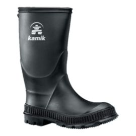 Kamik Kids' Stomp Rain Boots - Black