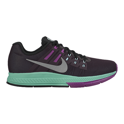 finest selection 6e913 81408 Nike Women s Air Zoom Structure 19 Flash Running Shoes - Purple Teal Green  Silver   Sport Chek