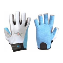 HumanX Women's 3/4 Finger Glove - Blue