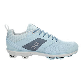 ON Women's Cloudcruiser Running Shoes - Aqua Blue/White