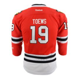 Chicago Blackhawks Kids' Jonathan Toews Premier Home Hockey Jersey