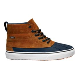Vans SK8-Hi Del Pato Men's Skate Shoes - Brown/Blue