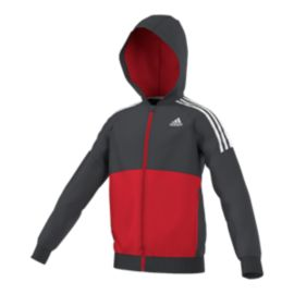 adidas Gear Up Kids' Full-Zip Hoodie