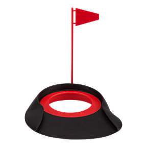 Jef Rubber Putt Cup with Flag