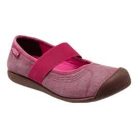 Keen Women's Sienna MJ Canvas Casual Shoes - Red/Brown