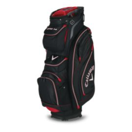 Callaway Org 14 Cart Bag - Black/Red/Charcoal