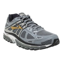 Brooks Men's Beast 14 Running Shoes - Grey/Silver/Gold