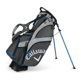 Callaway Fusion 14 Hybrid Stand Bag 2015 - Charcoal/Silver/Blue