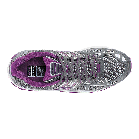 be13c1be743 Brooks Women s Ariel 14 Running Shoes - Grey Purple