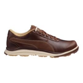 PUMA Golf Men's BioDrive Leather Golf Shoes - Brown