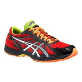 ASICS Men's Gel Fujiracer 3 Trail Running Shoes - Red/Silver/Black