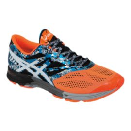 ASICS Men's Gel Noosa Tri 10 Running Shoes - Orange/Blue/Silver