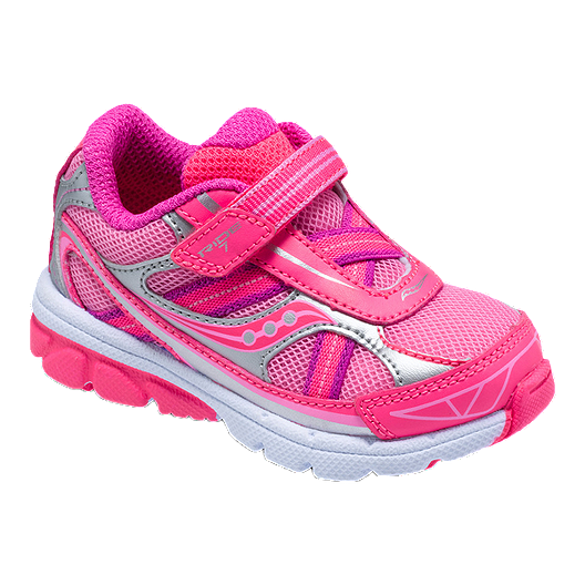 a87f358b10 Saucony Toddler Girls Baby Ride 7 Running Shoes - Pink   Sport Chek
