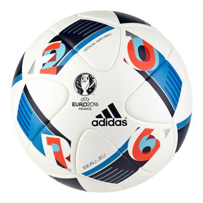 adidas Matchball European Qualifiers 2016 white-black-iron metallic-red - 5